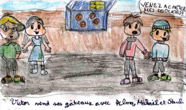 Une idée de Victor par Léonore