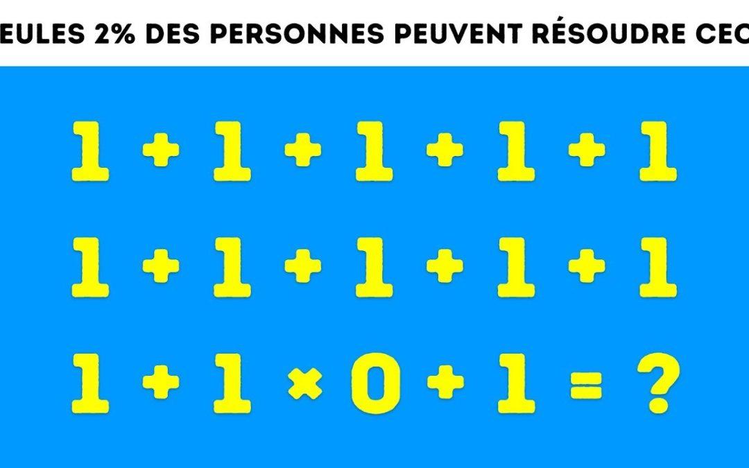 Défi-Maths 2018-2019 | Manche 3