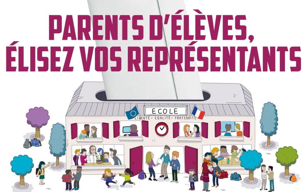 Elections des représentants de parents d'élèves 2020