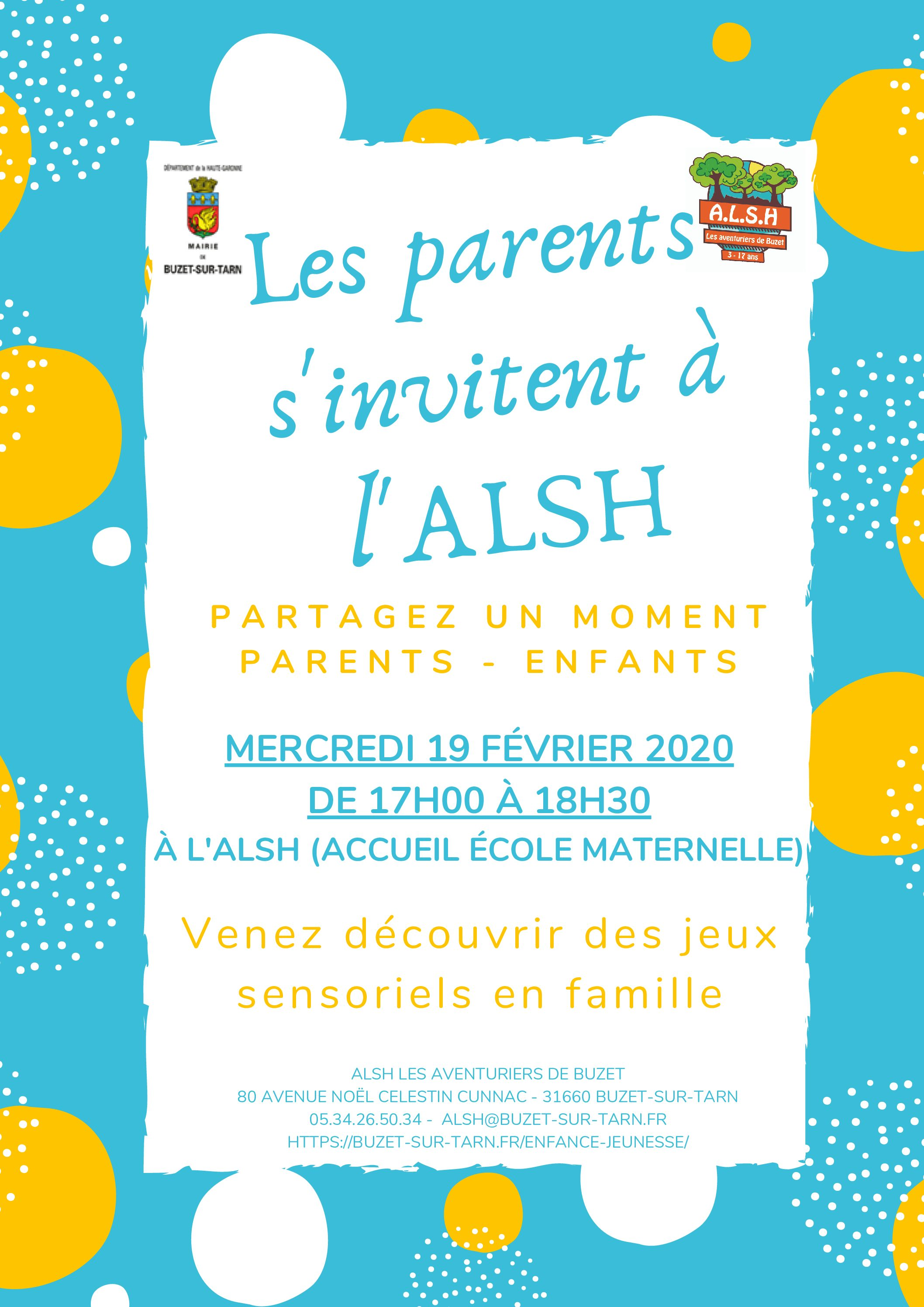 Les parents s'invitent à l'ALSH