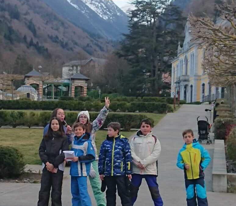 Fin du séjour ski