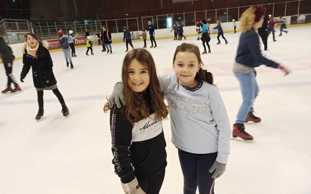 Un hiver à la patinoire